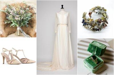 El estilismo de la semana: ¡Una hermosa novia medieval!