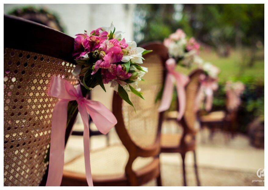 6 aspectos a levar em conta para que a decoração do seu casamento seja perfeita!