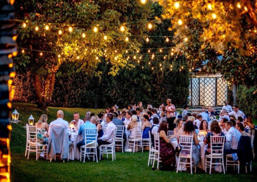 A disposizione degli sposi tutta l'esperienza e la passione per l'ospitalità: solo con queste location
