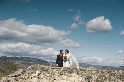 Un vestido único: la boda de Anabel y Manu