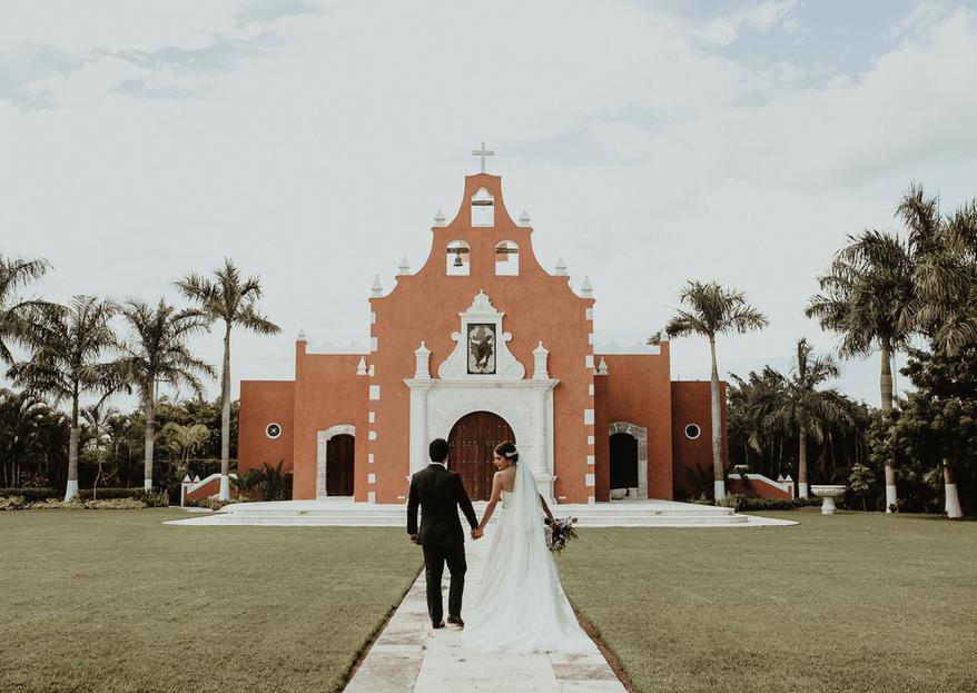Te propongo amarnos por la eternidad: la boda de Fernanda y Yayo