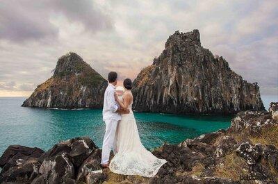 Os melhores locais do Brasil para um Destination Wedding: os 15 mais TOP para o dia do sim!