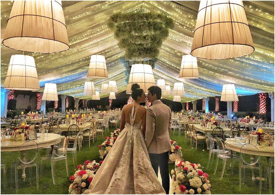 Las 6 decoraciones de boda preferidas por los colombianos: ¿cuál es tu favorita?
