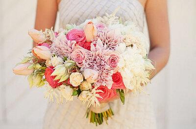 Adorables ramos de novia para el 2015