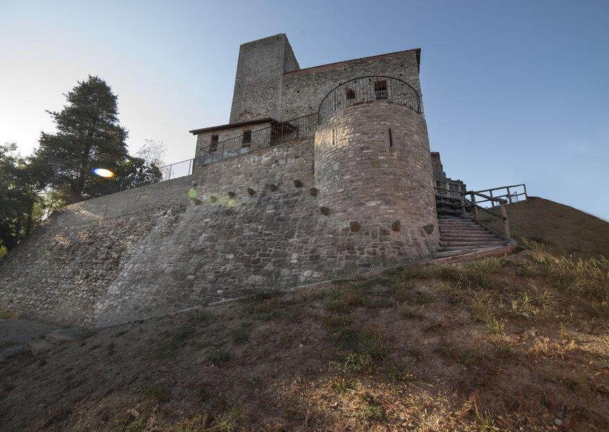 Castello di Niella Tanaro: una terrazza mozzafiato per celebrare il vostro amore