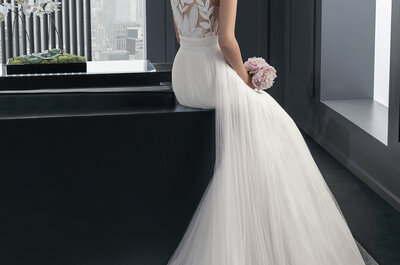 El efecto tatuaje: la nueva tendencia en vestidos de novia