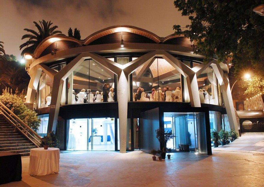 Encuentra el telón de fondo perfecto para tu boda: ¡Barcelona a tus pies en Esferic BCN!
