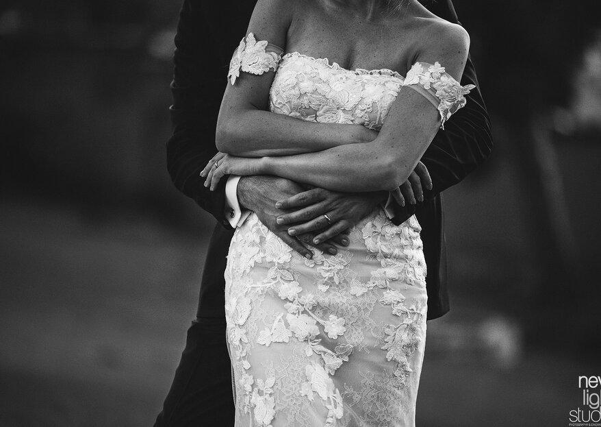 Sostenersi, l'atto d'amore più bello nelle nozze di Massimiliano e Valentina