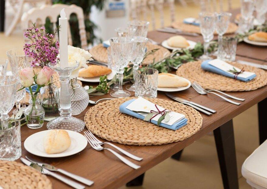 ¿Qué menús para alérgicos ofrecen los catering de bodas?