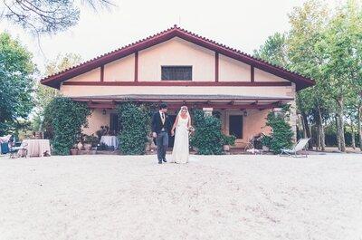 La boda en un entorno único, con unas vistas privilegiadas y diseñándola a vuestro gusto