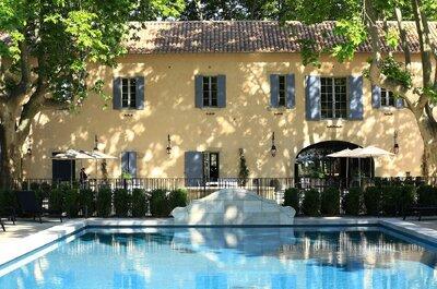Luxe, verdure et calme aux Baux de Provence : l'écrin rêvé pour se marier
