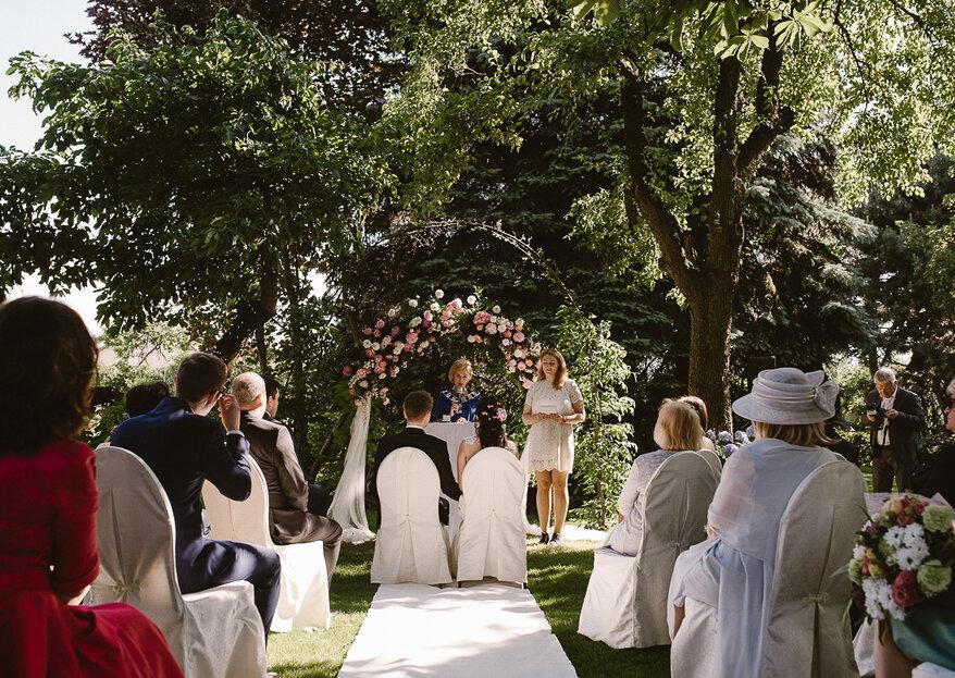 Ślub plenerowy w Villi, czyli slow wedding pełen pięknych gestów!