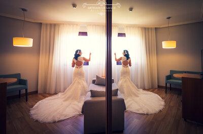 Organizada a la perfección: la boda de Katia y David