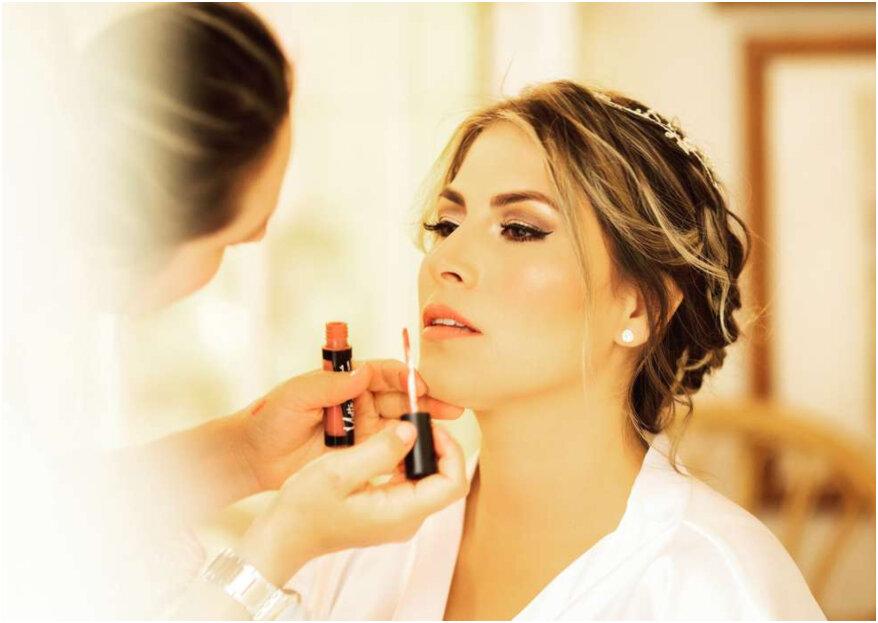 Maquillaje waterproof para novias: conoce sus ventajas y si quieres ¡sumérgete!