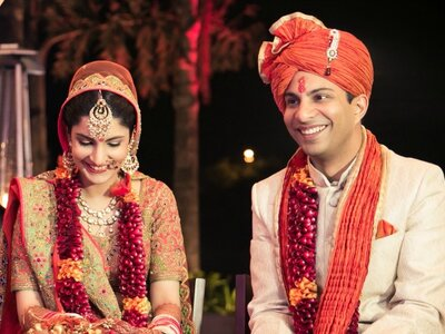 A wedding to adore- Nidhima and Sohrab