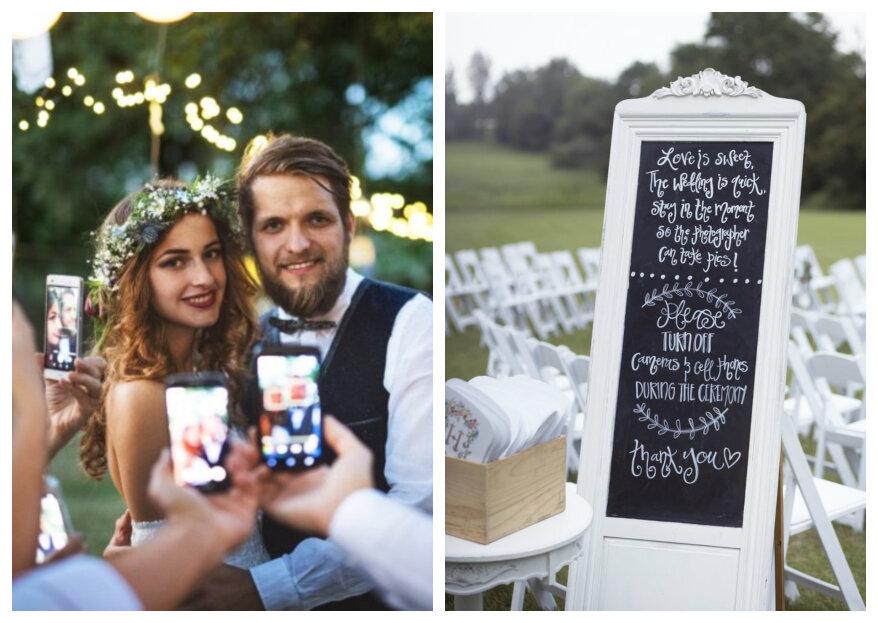 Unplugged Wedding - Zorgeloos genieten van de bruiloft zonder telefoons!