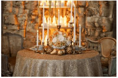 15 decorazioni natalizie per il tuo banchetto nuziale
