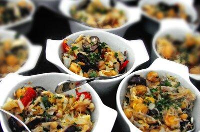 Porções pequenas, saudáveis e deliciosas: sucesso garantido no seu casamento!