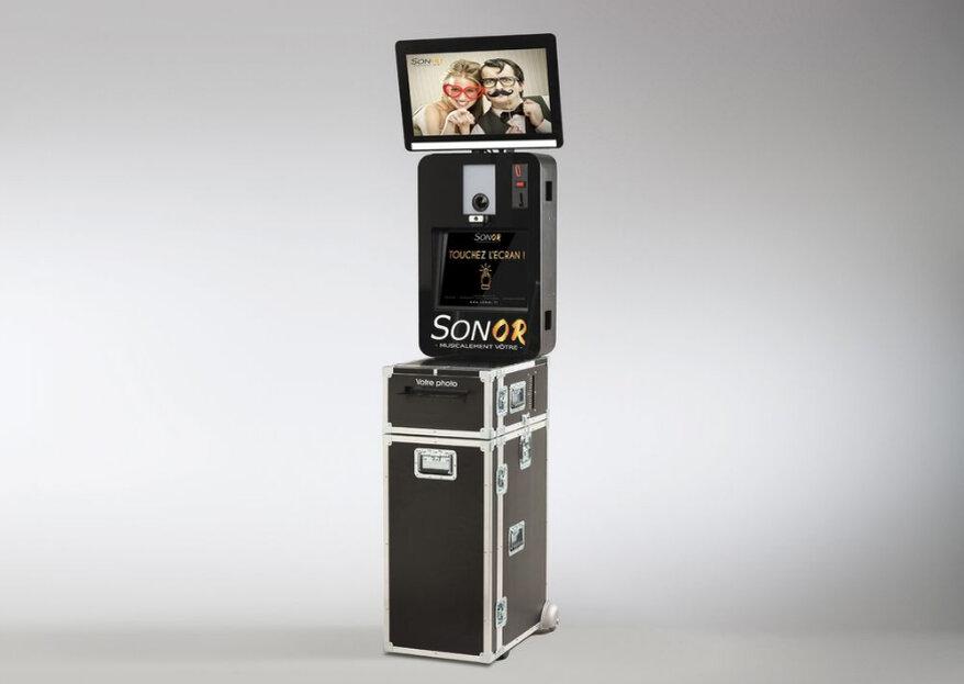 Ludique et décalée : l'animation photobooth Sonor est aussi complète que compétitive