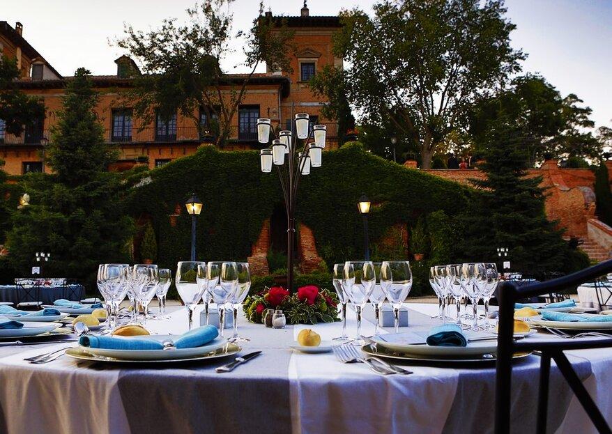6 maneras de impresionar con el catering de tu boda