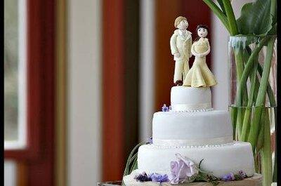 Bolo de casamento: lindas criações de Corta la Torta