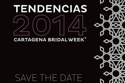No te quedes afuera del evento Tendencias 2014 en el Cartagena Bridal Week