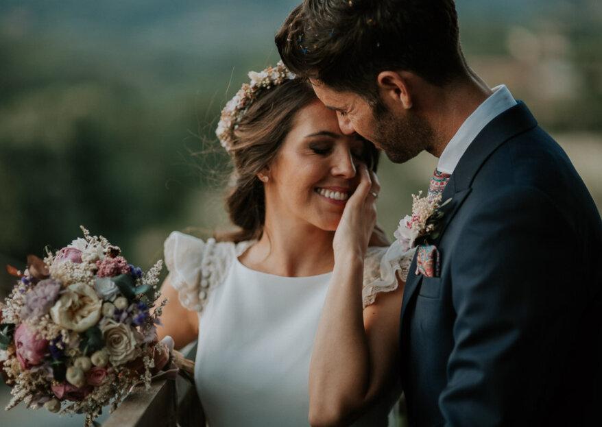 Un 2018 cargado de ilusiones: la boda de Myriam y Javier