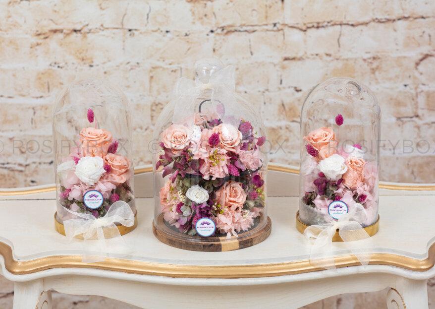 Rosify Box y sus ramos de novia preservados y personalizados
