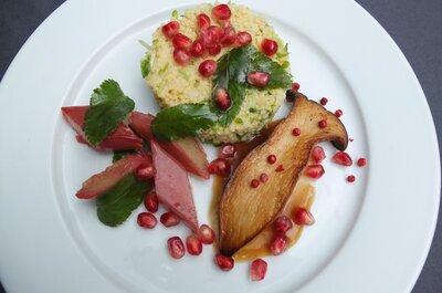 Veganes Catering für Ihre Hochzeit in Deutschland - Hier gibt's kulinarische Höhenflüge für's Brautpaar!