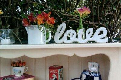 Inspire-se em elementos decorativos para um casamento no campo ou com estilo hippie