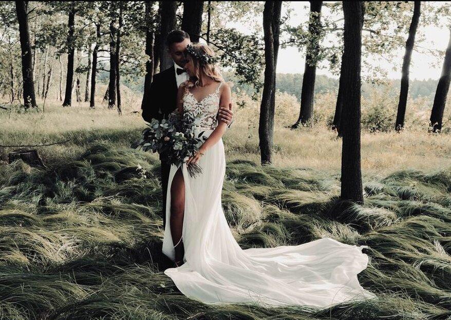 Minimalistyczne przyjęcie weselne w 5 krokach!
