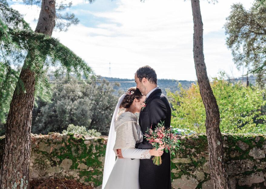 Un perfecto día de invierno: la boda de Diana y Javi