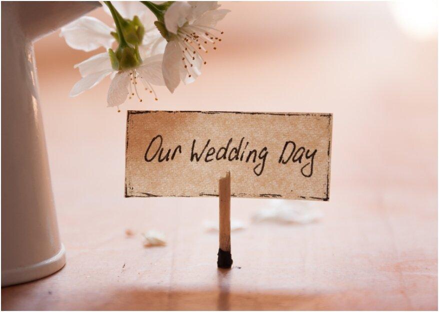 Met deze tips begin je jouw trouwdag helemaal zen!