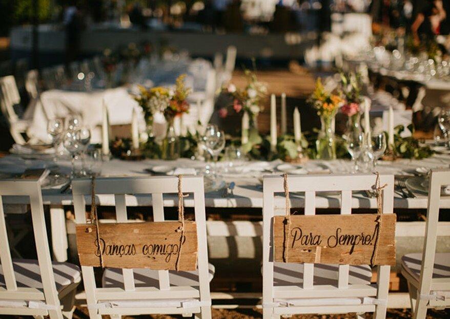 Os cenários para arrasar com os seus mais importantes: celebre o amor e a sua paixao aqui!