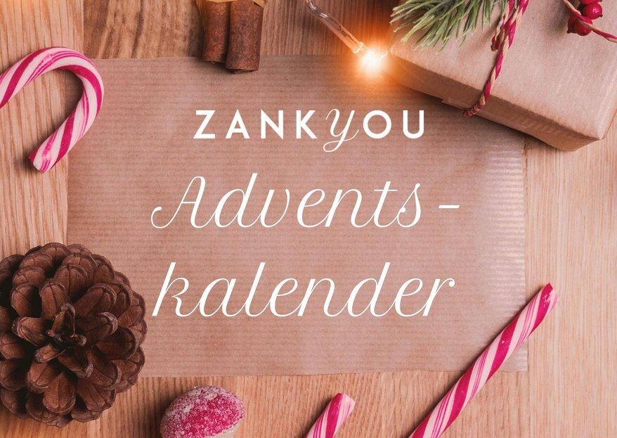 Zankyou 2019 Adventskalender: maak elke dag kans op een geweldige prijs voor jouw bruiloft!