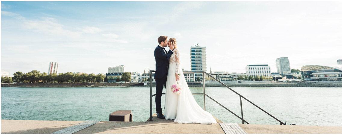 Motto Urban chic: Lorena & Florians moderne Mannheimer Hochzeit