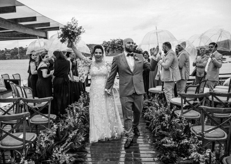 Claudia Couttinho & Alberto Borraccino: casamento romântico em Búzios entre a cerimonialista carioca e o italiano que roubou seu coração!