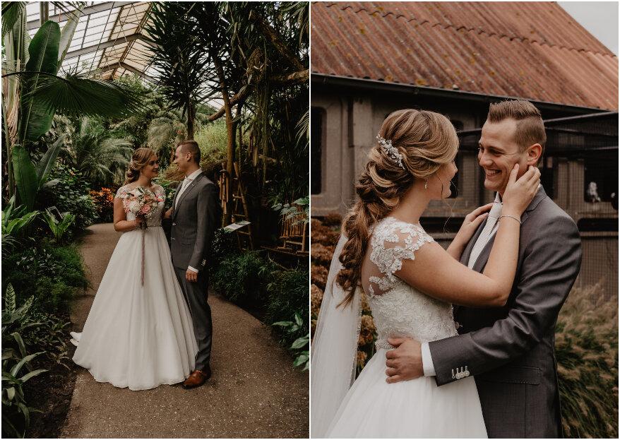De real wedding van Pieter & Janselien met een landelijk randje