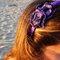 Cintillo violeta y negro. Foto: Nuez Moscada