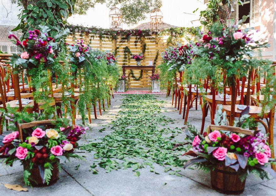 Um espaço de casamento idílico - Um sonho realizado!