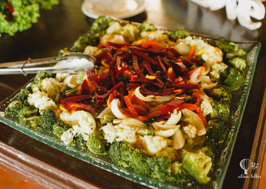 Alfas Buffet Eventos Gastronômicos: seu casamento marcado através de pratos que surpreendem e deixam aquele gostinho de quero mais
