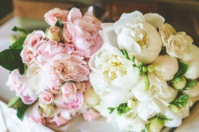 La belleza de las peonías en tu boda: Ramos, centros de mesa y las decoraciones más lindas para ese día