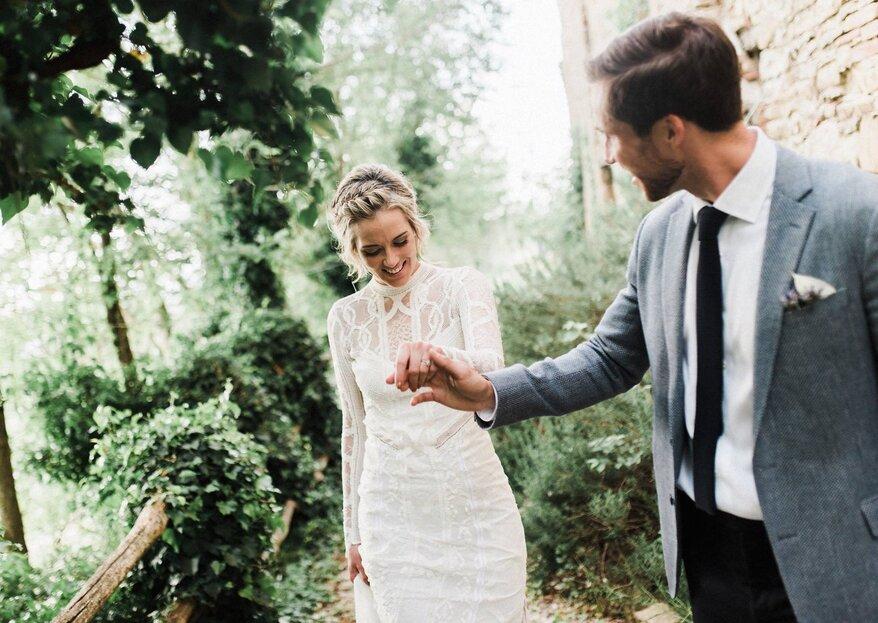 Las 10 reglas de boda que fueron hechas para romperse