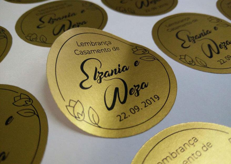 Lemon Stickers: surpreenda os seus convidados com lembranças personalizadas e cheias de estilo