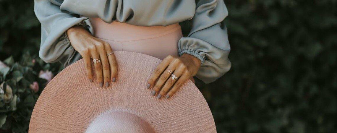 Por qué triunfan los anillos de compromiso de colores