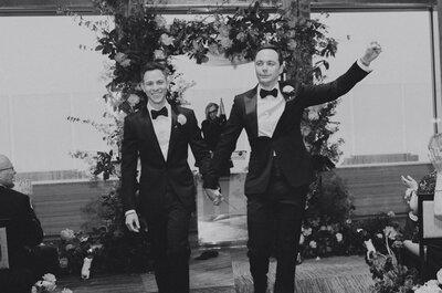 Jim Parsons, o Sheldon da Teoria do Big Bang … casou-se!