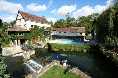 Pittoresque, authentique et proche de Paris : Le Moulin XII est le lieu de réception rêvé
