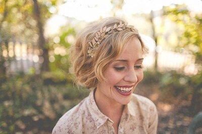 Die trendigsten Brautfrisuren 2014 mit Haarschmuck