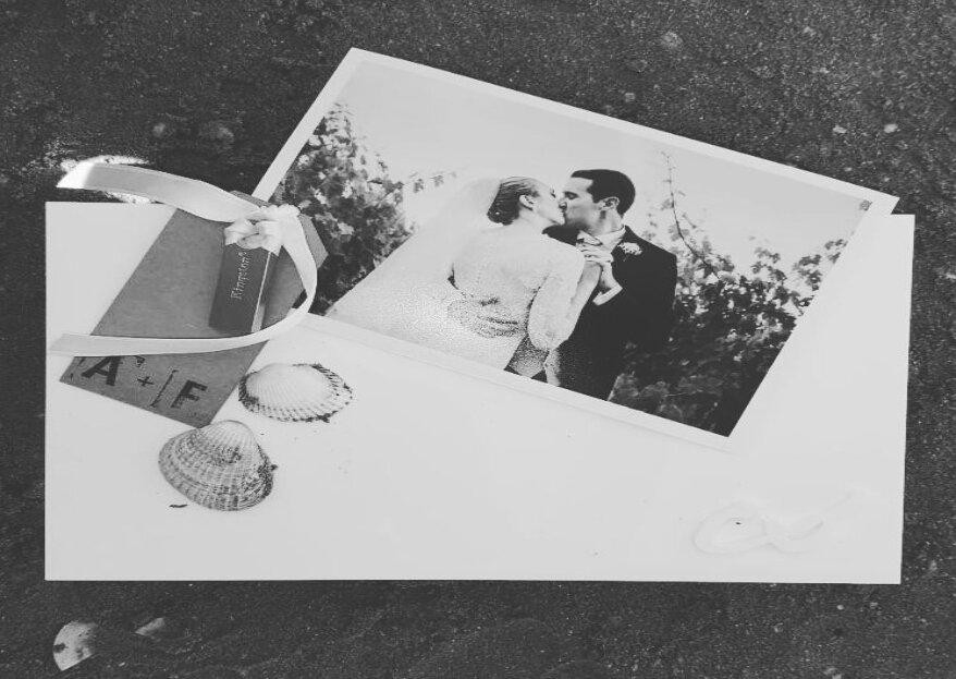 Le 7 caratteristiche delle partecipazioni di nozze perfette