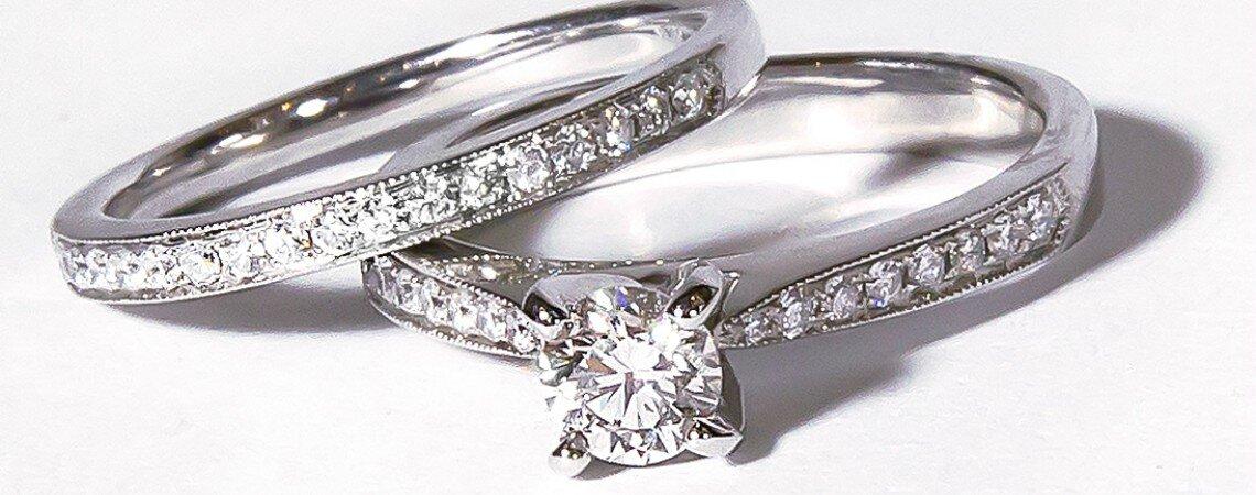 Así debes escoger los diamantes para tu anillo de boda